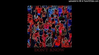 Cover images SAAY - DON'T KNOW (FEAT. PUNCHNELLO)