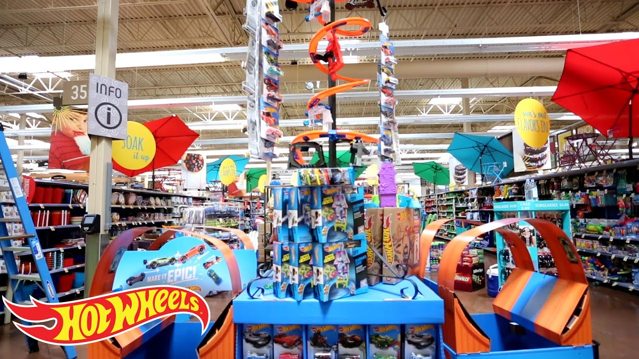 "Toys From Kroger : Hot wheels ""make it epic at kroger display competition"