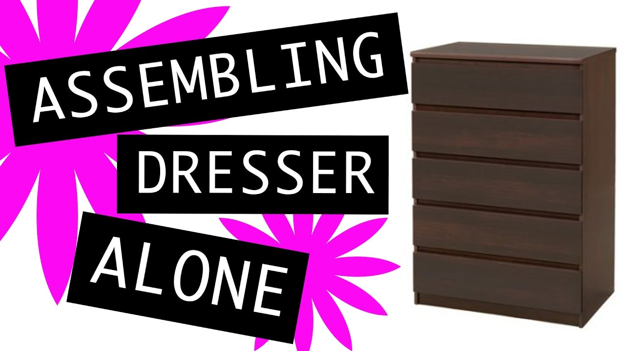 How to assemble a chest of drawers 6