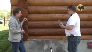 видео Отделка швов в деревянном доме