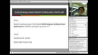 Endometriyozis; Medikal Tedavi - Prof Dr Gürkan Uncu