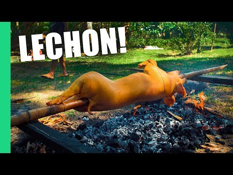 Crashing a Fiesta in the Philippines! (Lechon, Adobo, Eel)