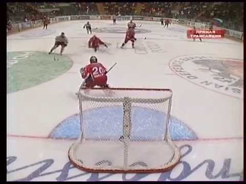 Хоккей. Товарищеский матч.  24. 04. 2007.  Россия - Австрия