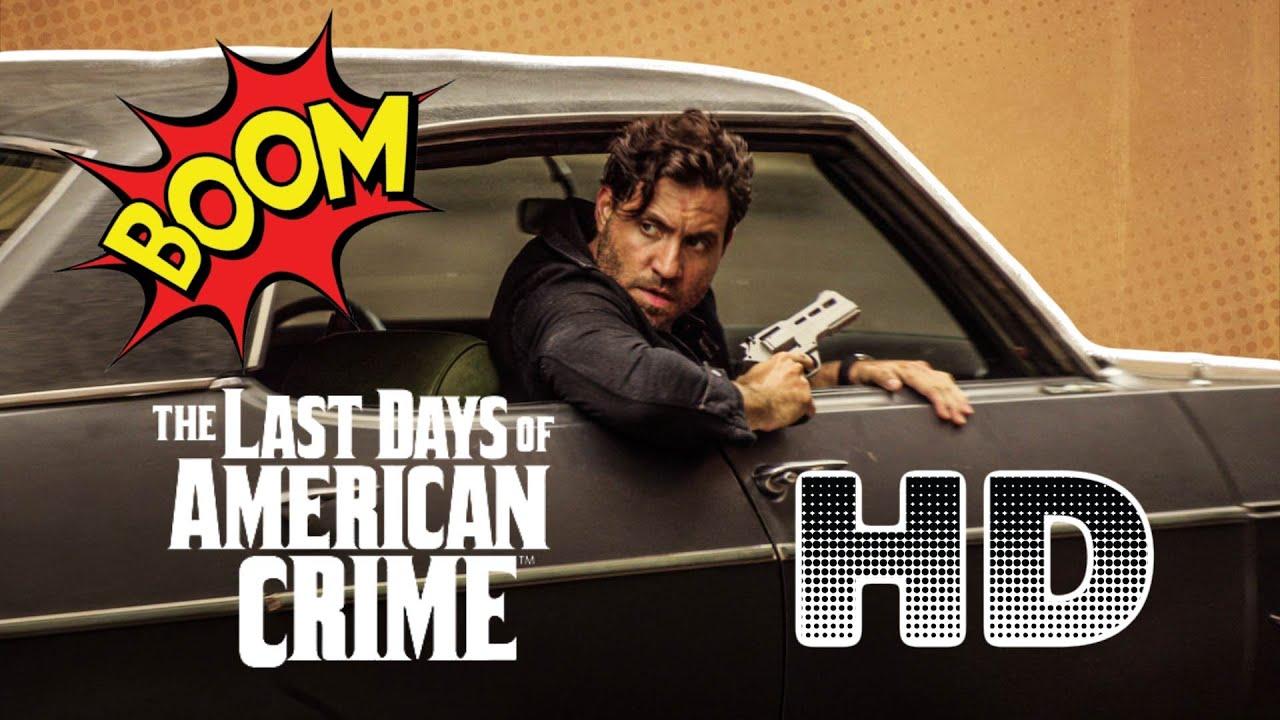 The Last Days Of American Crime Trailer Legendado Netflix Youtube