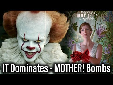 IT Dominates Box Office Again, MOTHER! Bombs