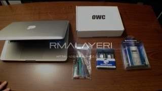 How to install two hard drives in your MacBook Pro - OWC SSD & Data Doubler Install