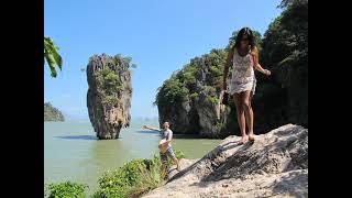 Остров Ко Тапу остров Джеймса Бонда Таиланд Январь 2013г