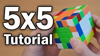 Learn How to SoĮve a 5x5 in 8 Minutes (Beginner Tutorial)