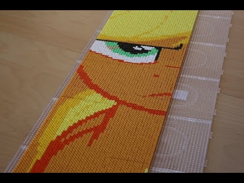 Perler Bead My Little Pony Applejack Time Lapse Youtube