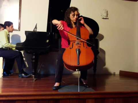 Trowell: Meditation for Cello - Nohelia Soto