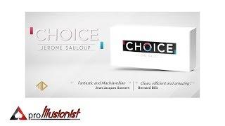 Choice by Jerome Sauloup - Trailer