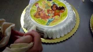 Come Fare una Torta per Bambini Nutella e Panna - Pan di Spagna : Compleanno