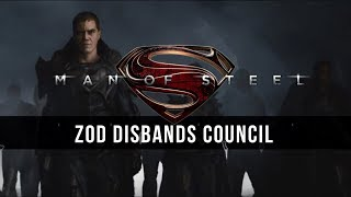 Hans Zimmer: Zod Disbands Council [Man of Steel Unreleased Music]