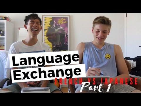 Language Exchange: French VS Japanese PART 1 [#8]