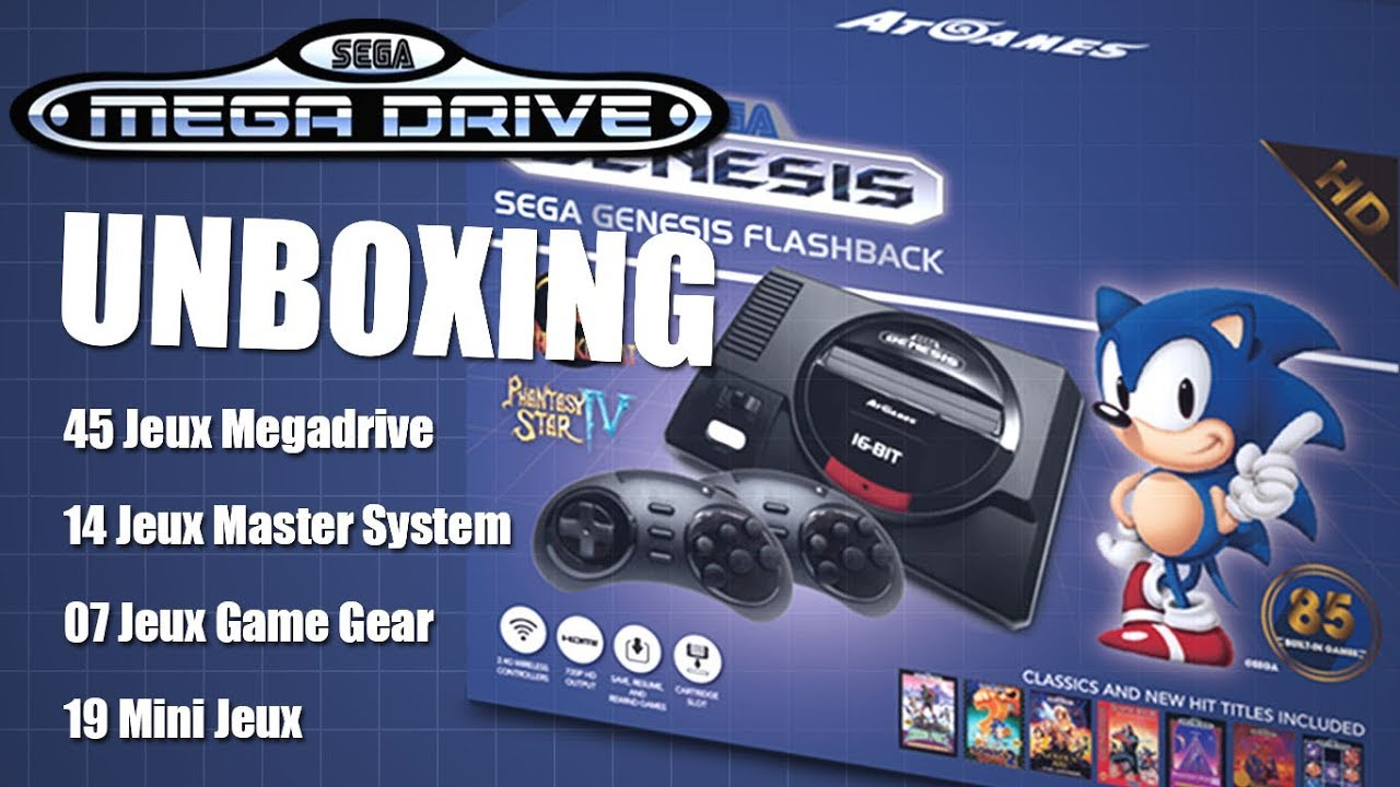 Mini Sega Mega Drive Flashback [UNBOXING]