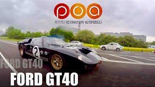 300 km/h en FORD GT 40 - Ford Heritage Center 2/3