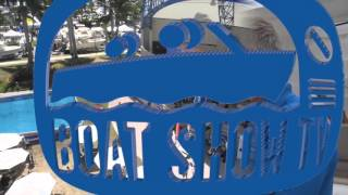47' Fountaine Pajot Power Catamaran At 2015 Palm Beach Boat Show