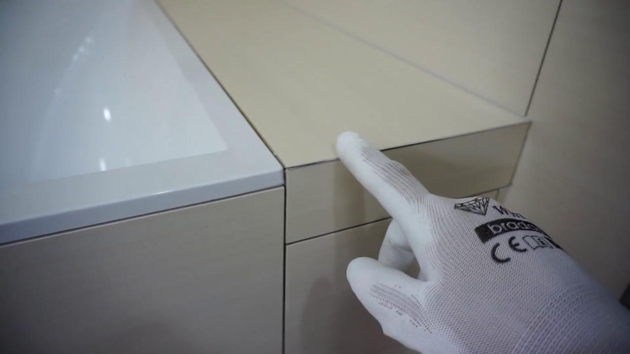 Скрытый ревизионный люк под плитку (евролюк) в ванную своими .