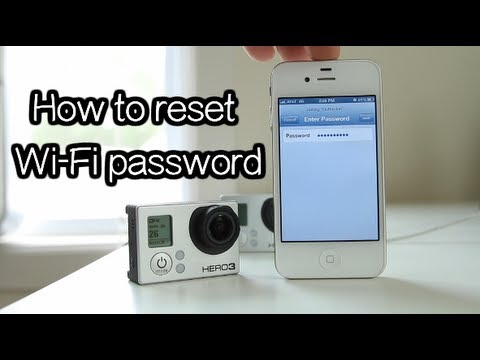 Hero3 / 3+ - How To Reset WI-FI Password - GoPro Tip #208 | MicBergsma