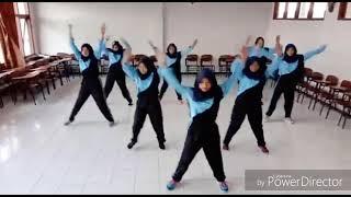 Senam SKJ (Senam Kebugaran Jasmani) 2012 - Mahasiswa PGSD 2016 A - STKIP PGRI Sidoarjo