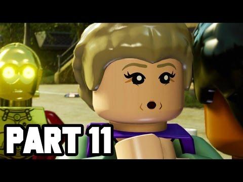 PRINCESS LEIA!! LEGO Star Wars The Force Awakens Gameplay Walkthrough Part 11