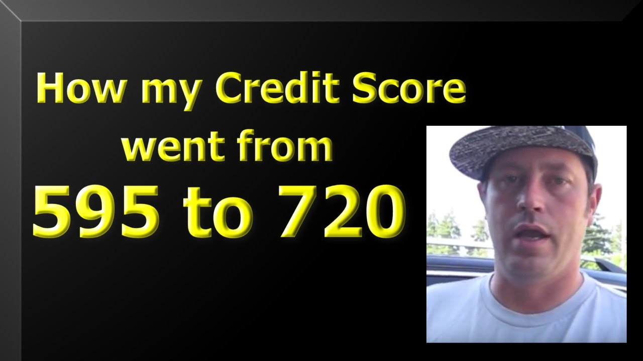 Credit Repair How I went from a 595 credit score to 720