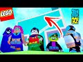 DÁ PRA ENTRAR NA TORRE DOS JOVENS TITÃS EM LEGO?