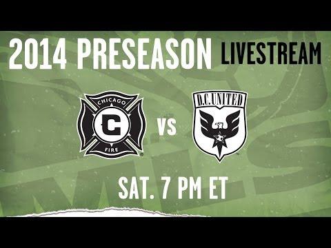 Chicago Fire vs D.C. United | 2014 MLS Preseason