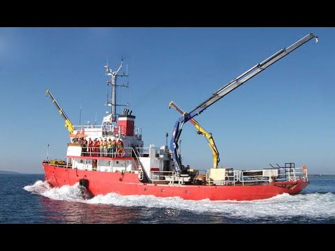 30m SUPPORT Diving Support Vessel For Charter