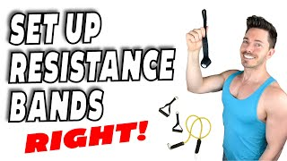 How To Set Up Resistance Bands | How To Use A Door Anchor