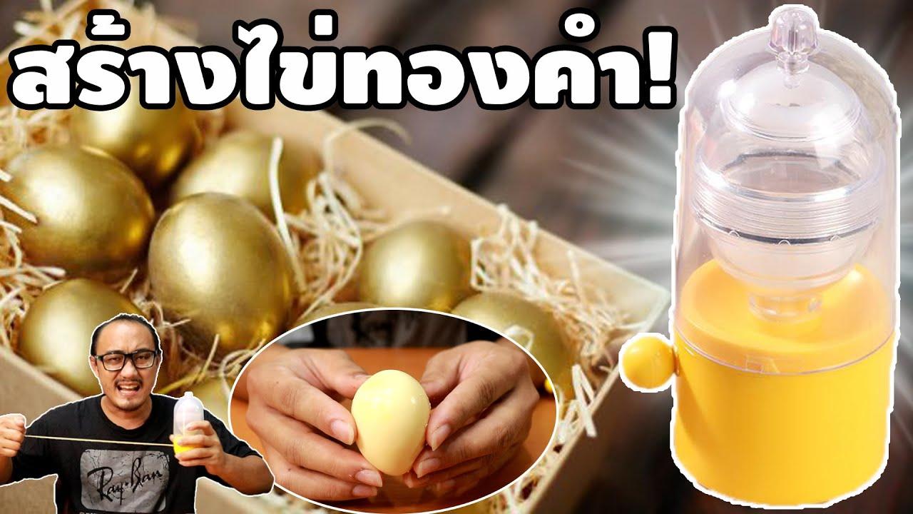 เครื่องปั่นไข่ ทำไข่สีทอง   รีวิวของเจ๋งๆ   เพื่อนซี้ ตัวแสบ 👓
