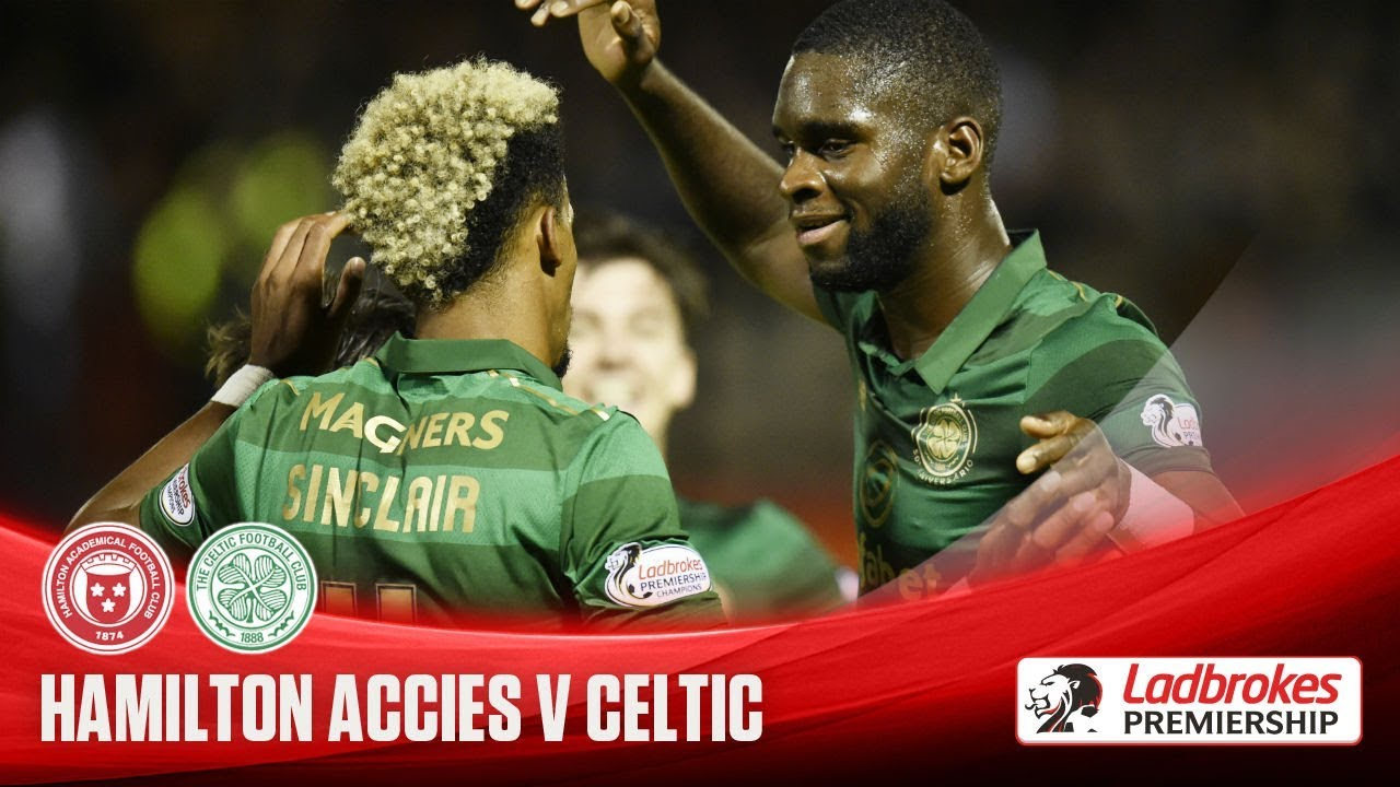 Hamilton Academical 1-4 Celtic FC