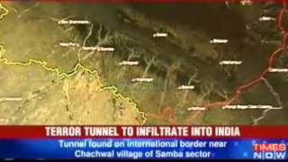 J K  Secret Pakistan tunnel spooks Delhi   Video   The Times of India