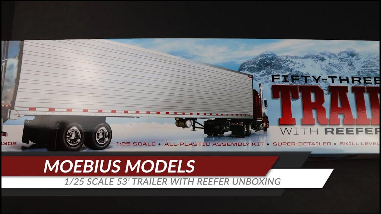 MOEBIUS MODELS 53 Smoothside Trailer