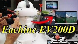 Eachine EV200D Review en Español - Primera Prueba del DVR