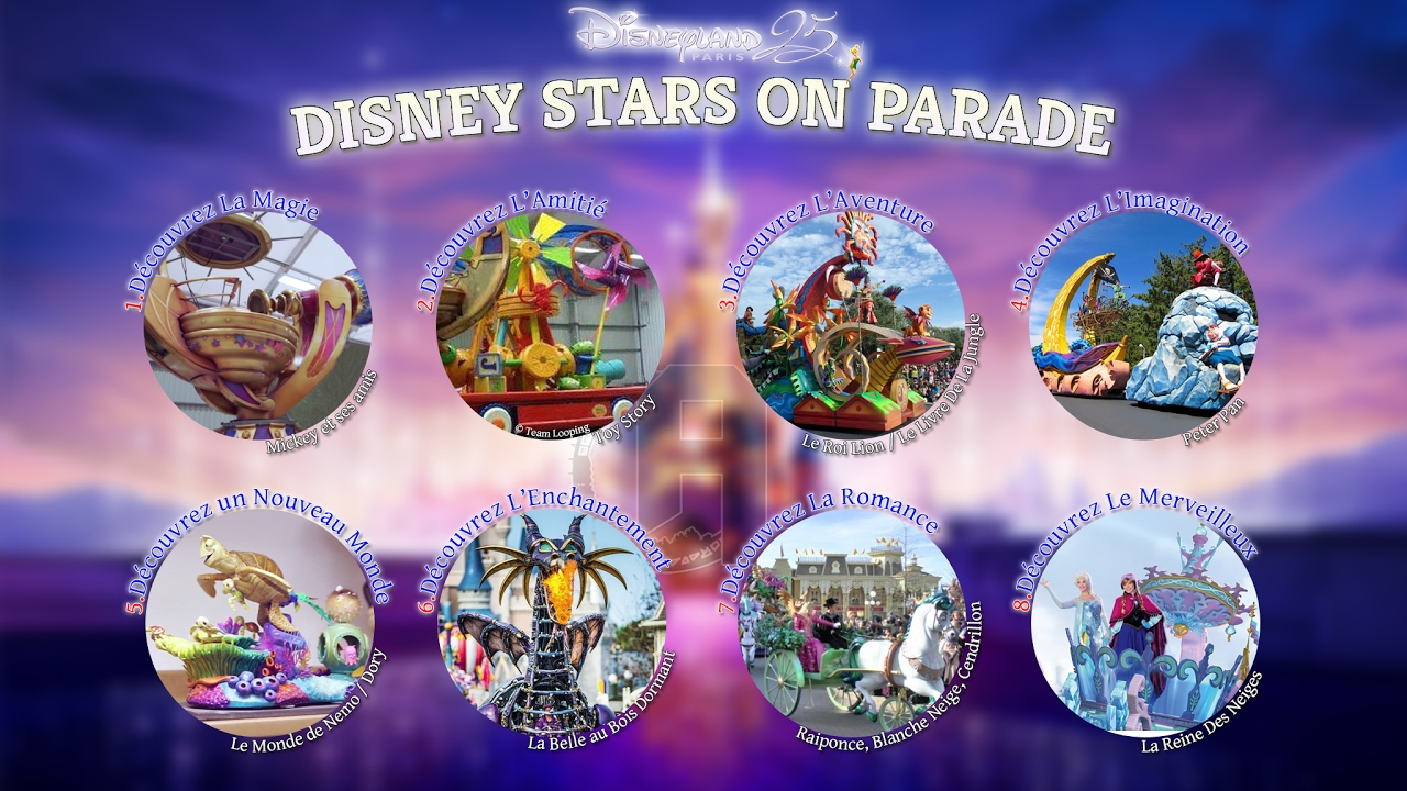music disney stars on parade lost in the magic. Black Bedroom Furniture Sets. Home Design Ideas