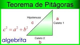 Encontrar un cateto si conocemos el otro y la hipotenusa Teorema de Pitágoras 353