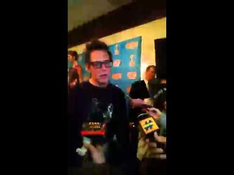 James Gunn @ 2015 Saturn Awards(1)