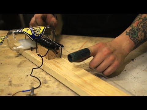 Диддли бо - Инструмент из мусора своими руками