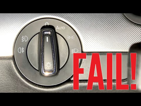 Adding Automatic Headlight Switch To My Audi A4 B7 Did NOT Work