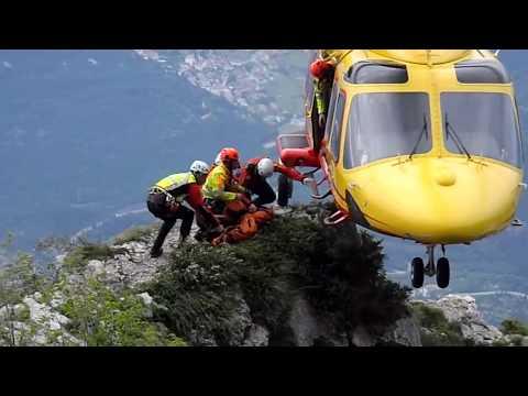 Soccorso Alpino Trentino - Intervento Via Vertigine Monte Brento