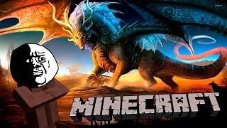 QUE PASA CUANDO LOS DRAGONES INVADEN MINECRAFT!! - Minijuego
