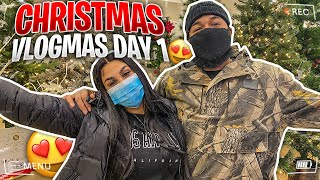 ARE Y'ALL READY FOR VLOGMAS 2020!? (DAY 1)