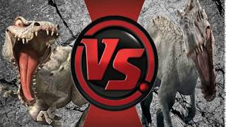 (OLD) (OUTDATED) (CRINGE) Rudy Vs Indominus Rex (Ice Age Vs Jurassic World) Animation Battles 17