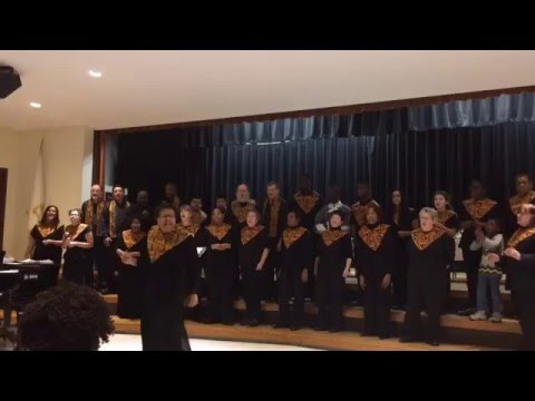 Amherst Area Gospel Choir performs at Martin Luther King Jr. breakfast