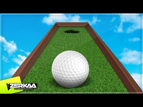 EASIEST MINIGOLF COURSE EVER? (Golf It)