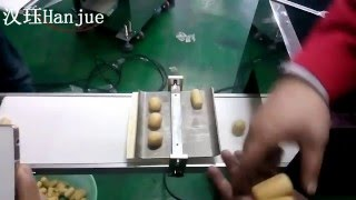 HX-001 Small encrusting machine and rolling machine for round ball, croquette