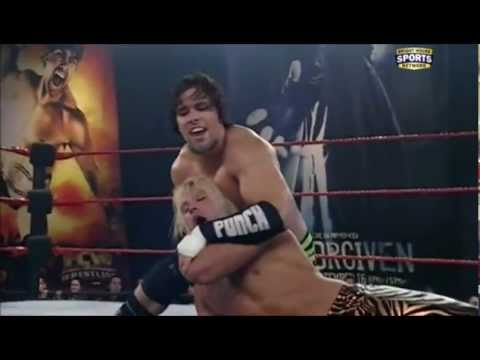 Brad Maddox & Leo Kruger vs Jason Jordan & Mike Dalton -  FCW TV 05 06 2012