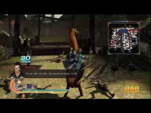 Dynasty Warriors 8 - Jin Part 11 - Zhuge Dan's Rebellion [PS3]