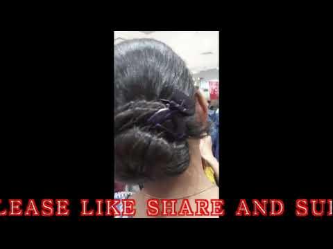 indian-aunty-big-hair-bun-oily-bun-must-watch-friends